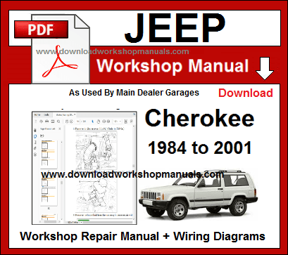 Jeep Cherokee Service Repair Workshop Manual Download